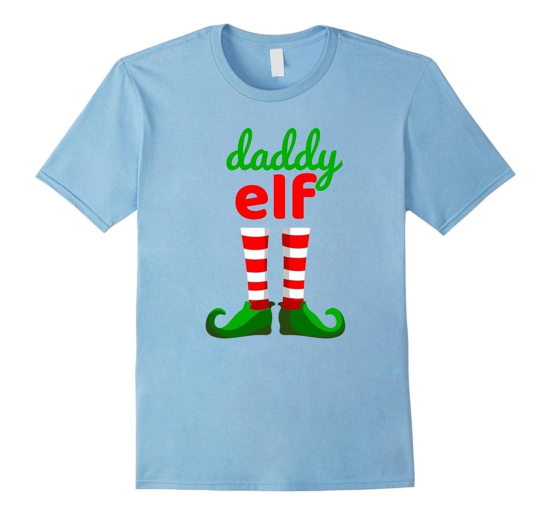 74990118 DADDY ELF Funny Christmas T-Shirt   Xmas Santa Helper Shirt-ANZ ...