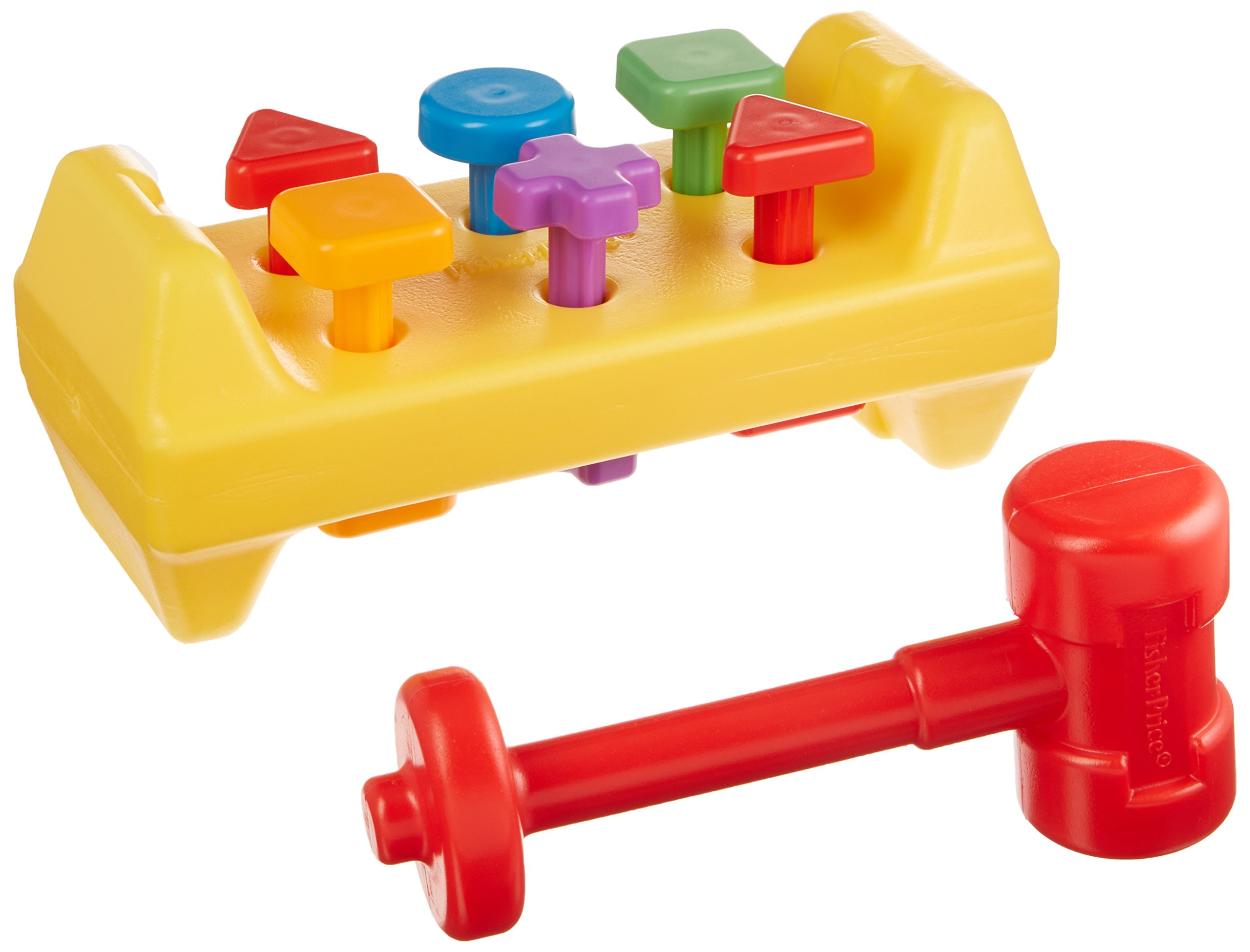 Fisher-Price Tap N' Turn Toolbench Toy