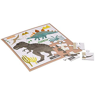 Dinosaur Magnetic Jigsaw Puzzle - 25 pieces: Toys & Games