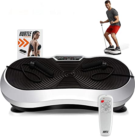 front facing hurtle fitness hurvbtr30 vibration platform machine