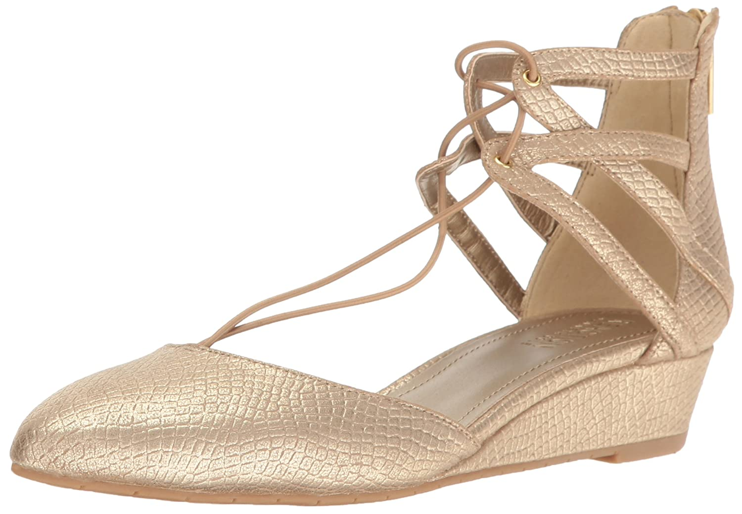 Kenneth Cole REACTION Women's Why Not Pointed Toe Flat B01LBCWNZK 5 B(M) US|Gold