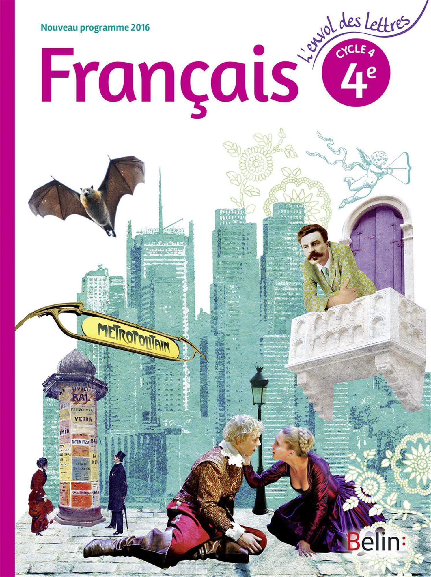Francais 4eme Cycle 4 Livre De L Eleve Format Compact