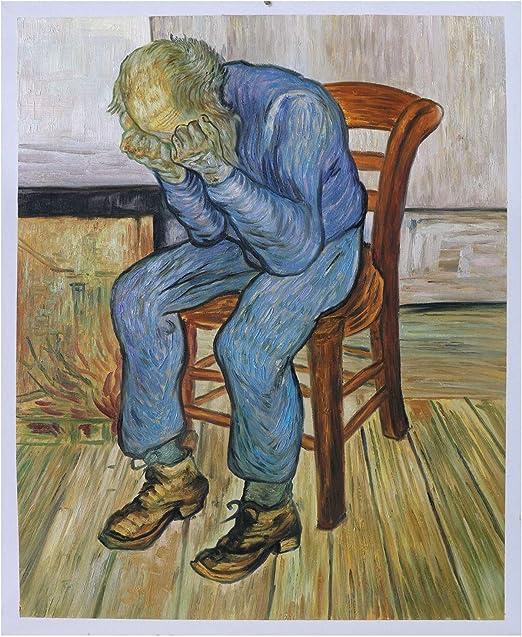 Viejo hombre en dolor (en el umbral de la eternidad) – Vincent Van ...