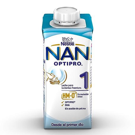 NAN Optipro 1, Leche de crecimiento para bebé - 6 de 200 ml. (