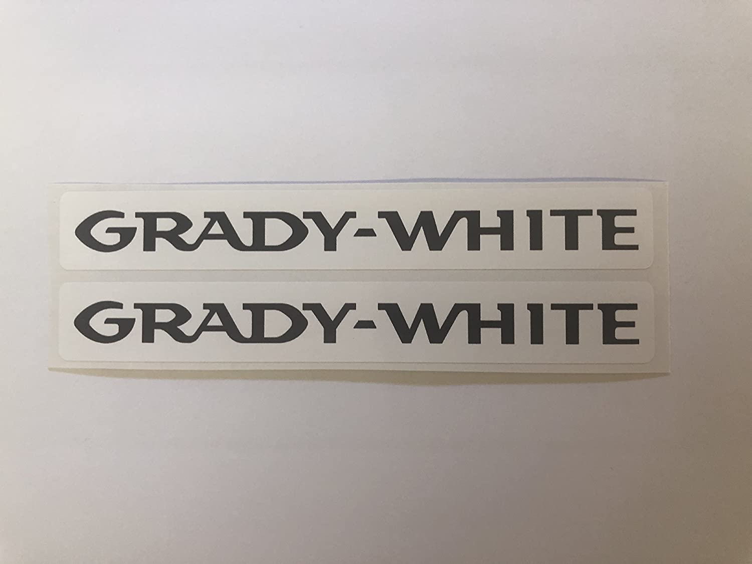 2 Grady White Boats Name Decals by SBDdecals com - - Amazon com