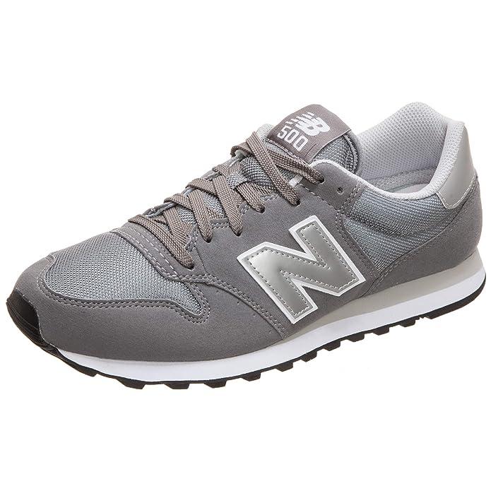 New Balance 500 Core Sneakers Herren Grau/Silber