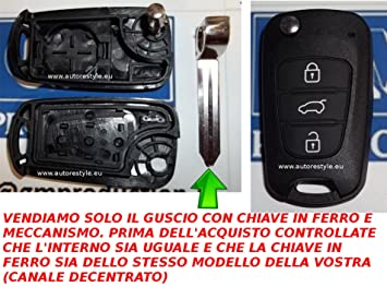 G.M. Production – Kia F22 – Carcasa para llave con mando a ...