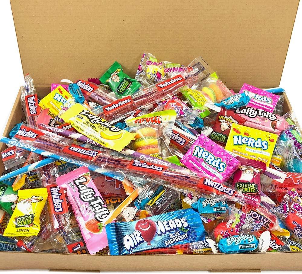Heavenly Sweets Selección Dulces Americanos Party Mix - Surtido +120 Golosinas de EE.UU. - Regalo de Cumpleaños, Navidad, Halloween para Niños y Adultos - Caja Tipo Retro: Amazon.es: Alimentación y bebidas