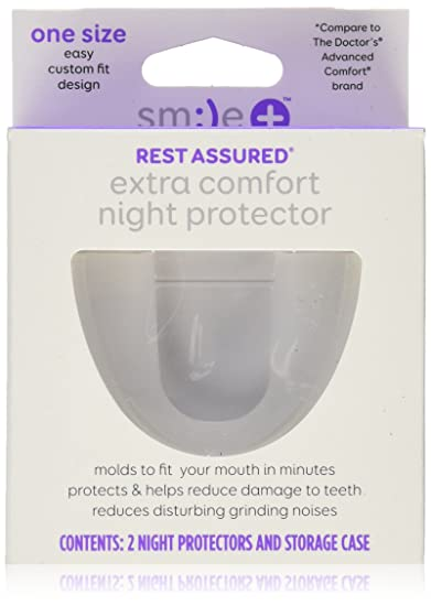 amazon com smile rest assured extra comfort nite protector 2