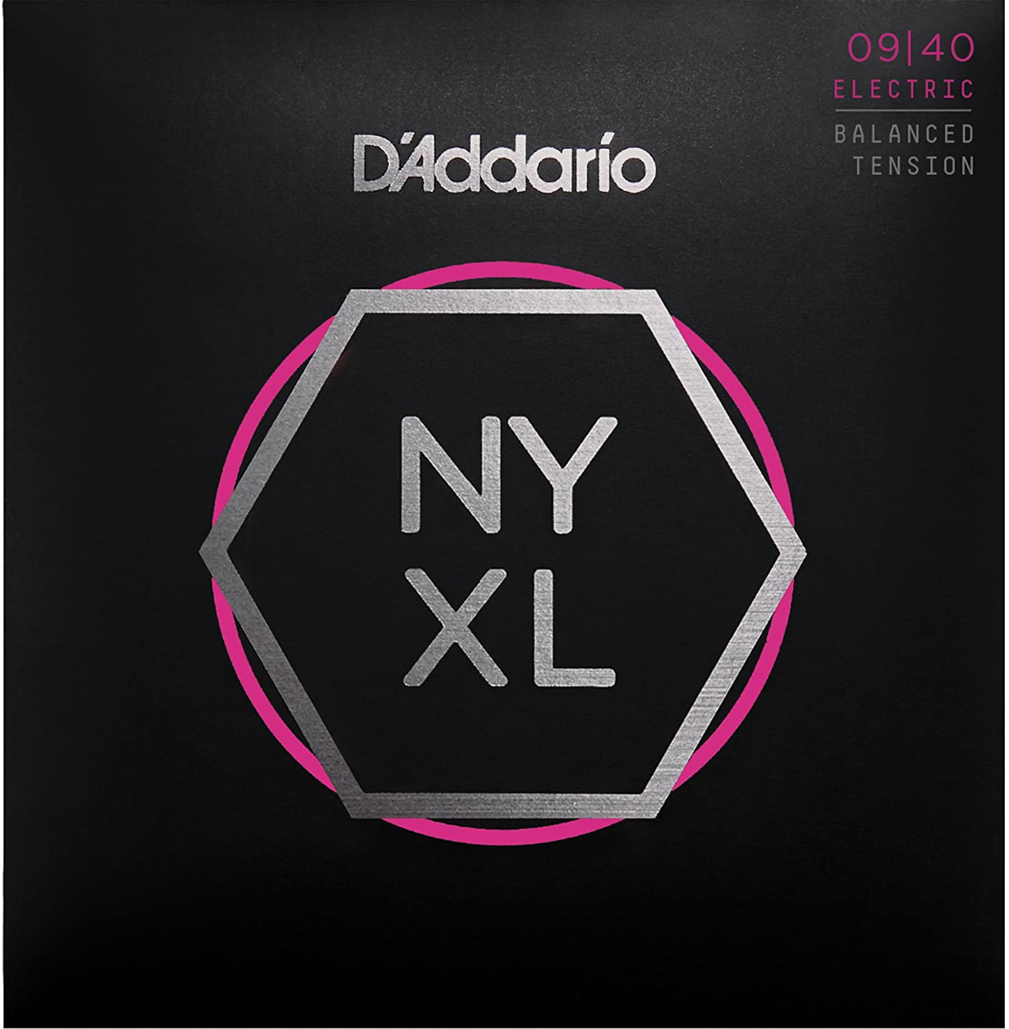 Cuerdas para Guitarra Eléctrica DAddario NYXL0940BT Nickel Wound, Balanced Tension Super Light, 09-40: Amazon.es: Instrumentos musicales