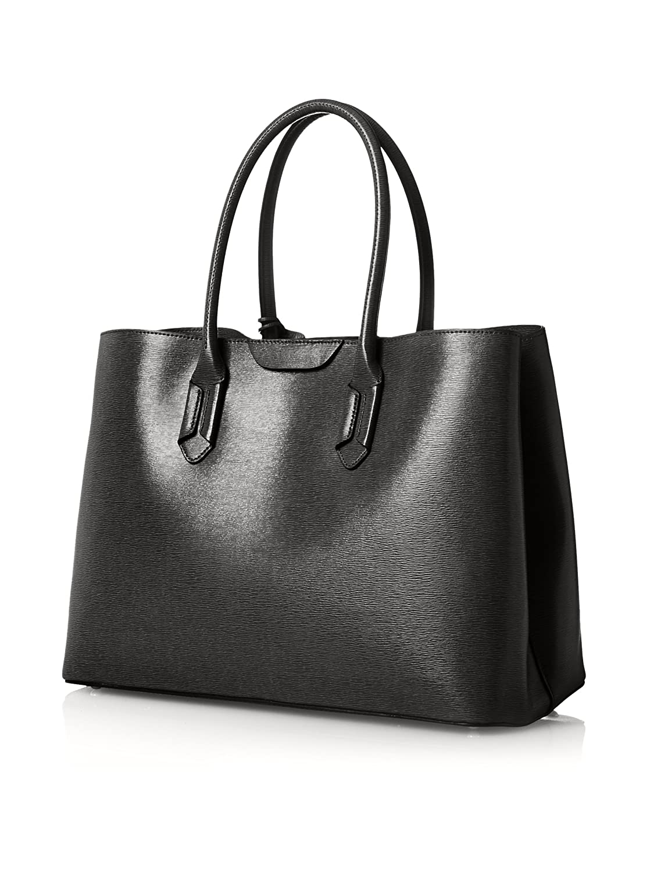 f75ab2b8e53 Ralph Lauren Tate City Tote Handbag In Black - RRP £280  Amazon.co.uk   Shoes   Bags