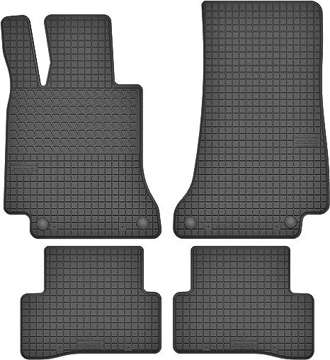 Gummifußmatten Set für Mercedes C-Klasse W205 S205 Fußmatten Gummimatten Matten