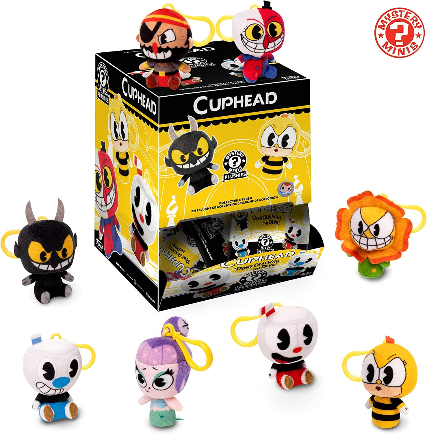 New CUPHEAD Funko Pop Mystery Minis Collectible Plushies Blind Bag Figure