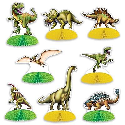 Beistle Dinosaur Mini Centerpieces: Toys & Games