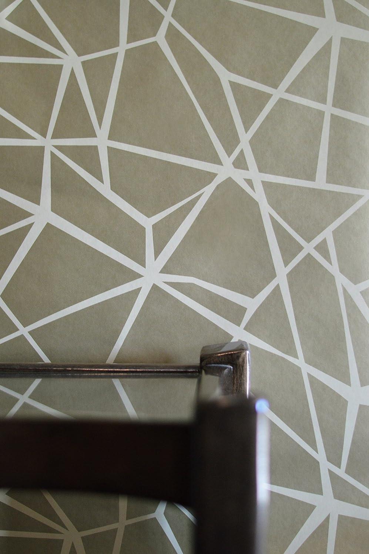Texturas por Alexandra Nautilus Papel Pintado Plata Morado 10.05 m x 52 cm