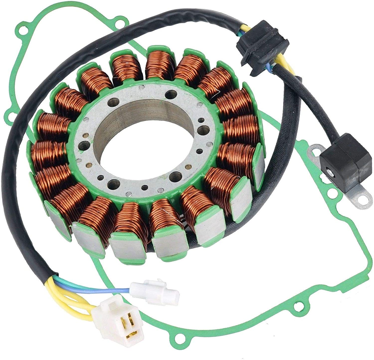 Caltric Stator And Gasket Special sale item Compatible Max 82% OFF with Arctic X Cat Wildcat 1