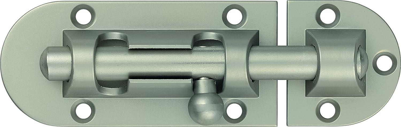 80/mm silber ABUS 59685/Schieberiegel