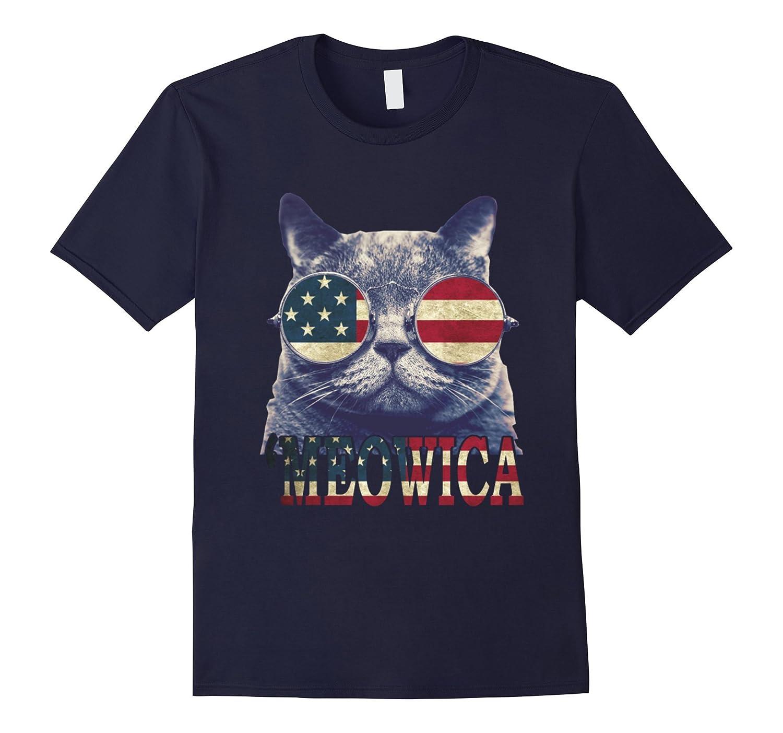 FREEDOM CAT FLAG Meowica Patriot Shirt-PL