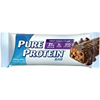 12 Count Pure Protein High Protein Chewy 2.75 oz Chocolate Chip Bar