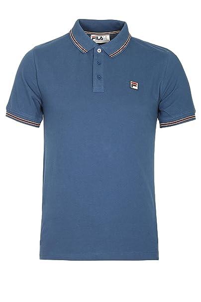 Fila Vintage Matcho Polo Shirt   True Navy: Amazon.es: Ropa y ...
