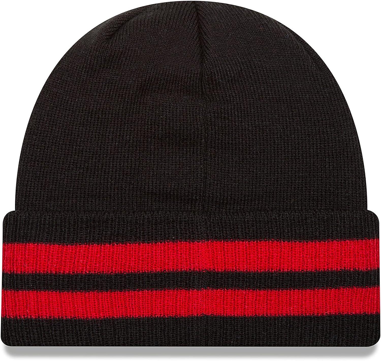 New Era NBA HWC 2 Striped Remix Knit Beanie