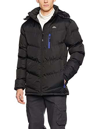 e0b6af788045 Trespass Blustery Mens Padded Jacket with Hood: Amazon.co.uk: Clothing