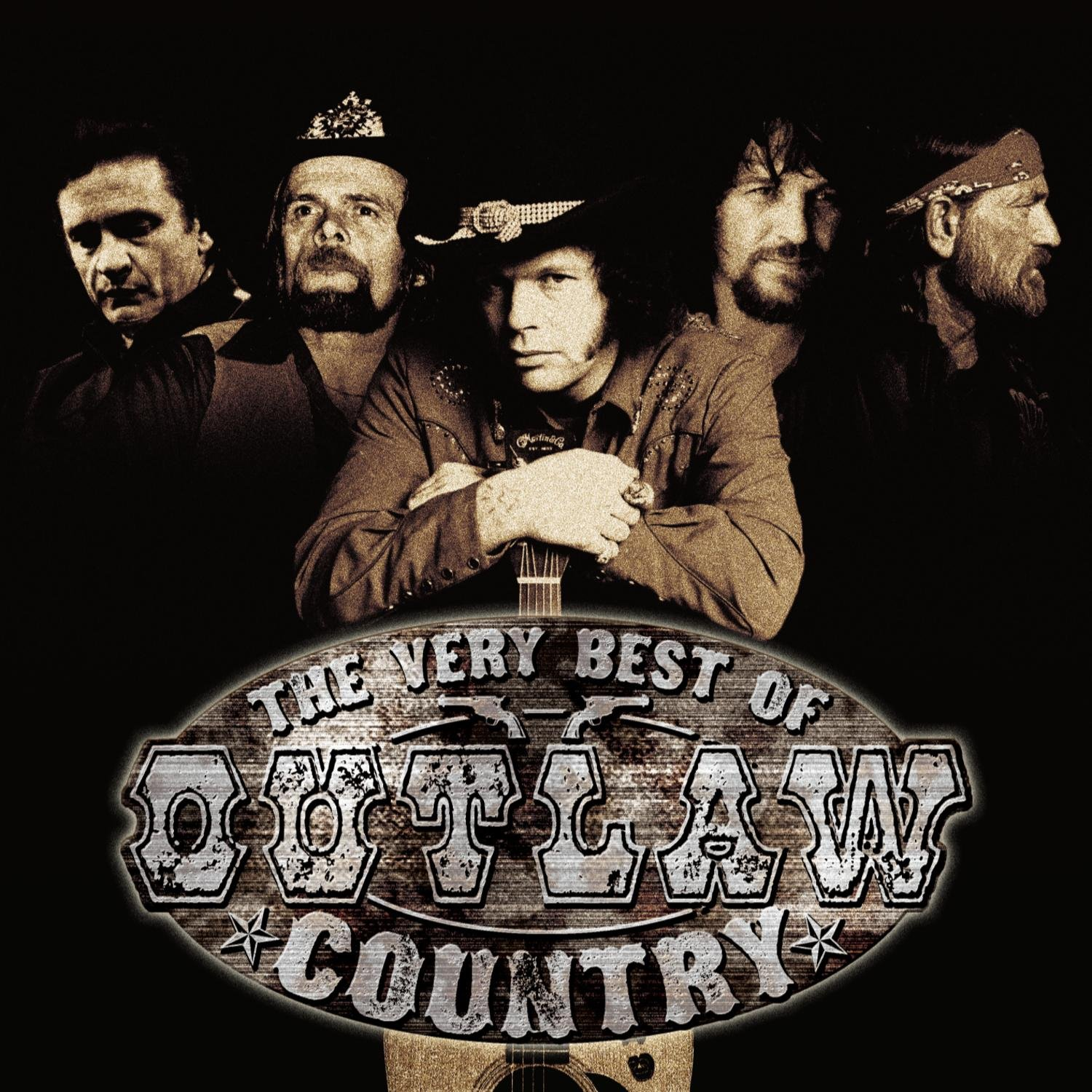 Various Artists Waylon Jennings Willie Nelson Johnny Cash Outlaw Country Amazon Com Music