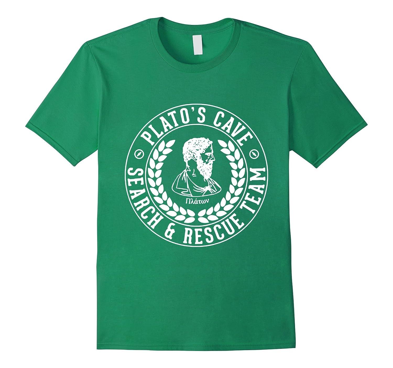 SeCrEt DeSiGn Platos Cave - Search  Rescue Team T-Shirt-RT