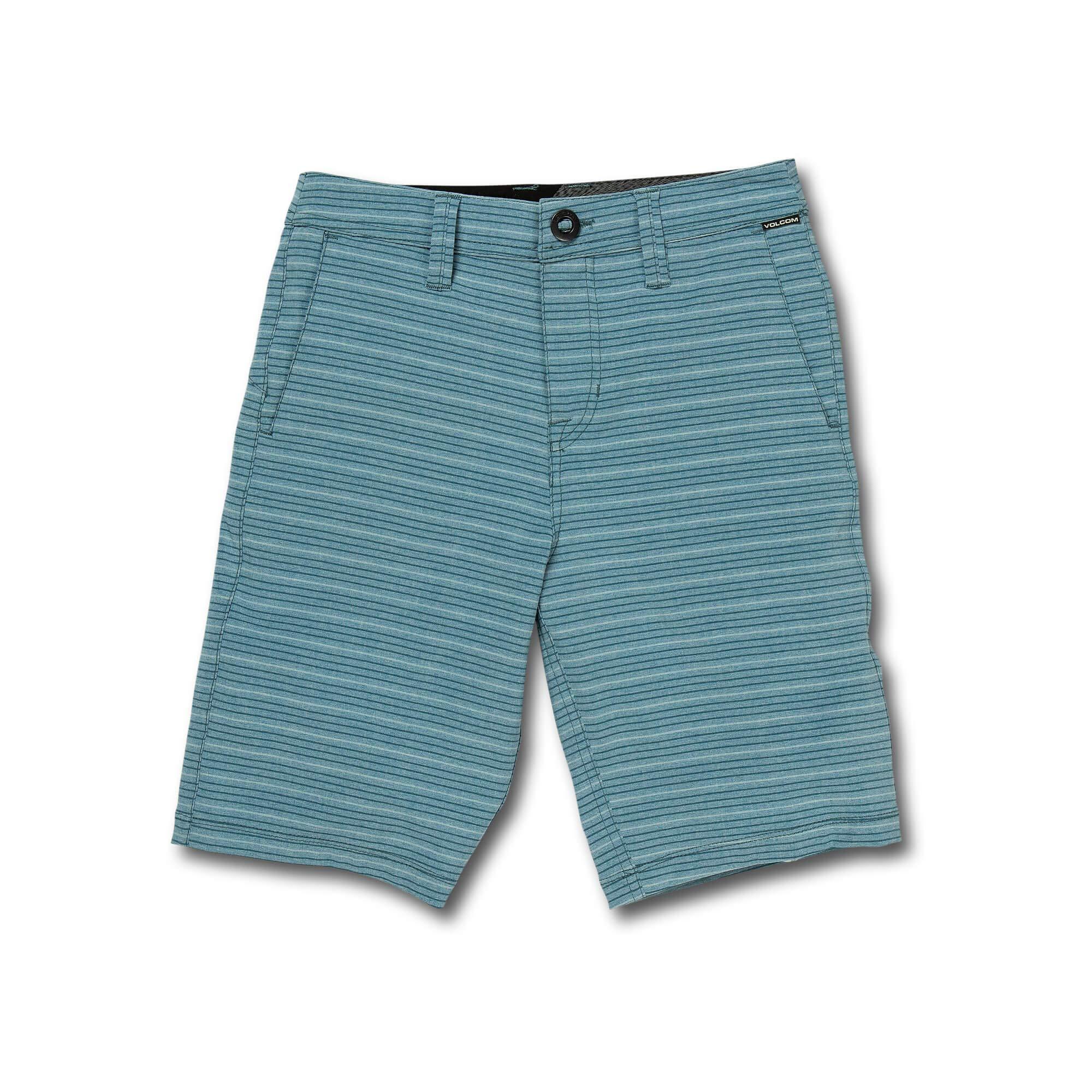 Volcom Big Boy's Frickin SNT 18'' Hybrid Short, Vintage Blue, 27