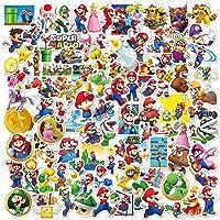 Super Mario Cartoon stickers, vinylstickers voor jongeren en kinderen, anime-autostickers voor skateboards, telefoon…