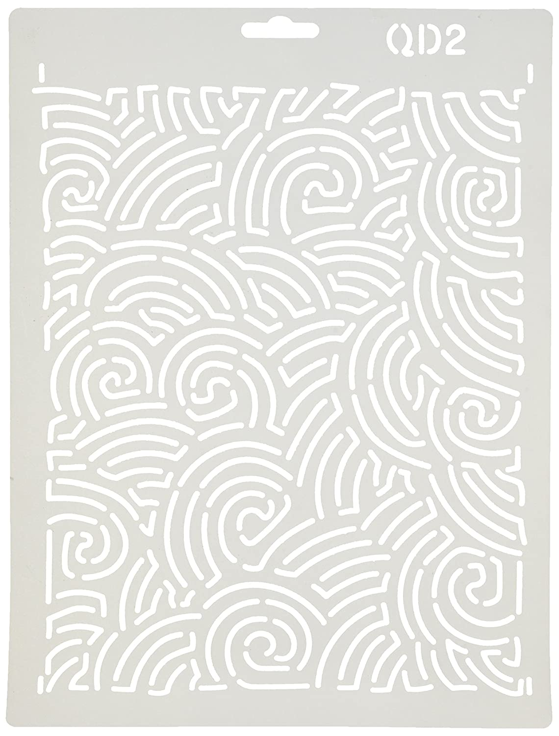 Quilting Creations Maze Background Quilt Stencil QD2QC