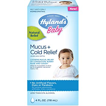 Amazon Com Hyland S Baby Mucus Cold Relief Natural