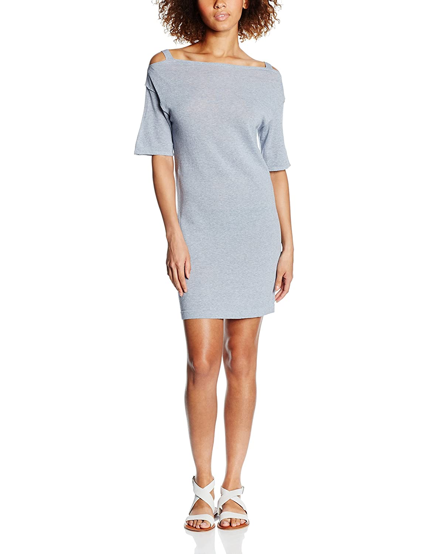 Blue Edc Short Dress By Esprit Grey Women's Sleeve Feminin 6dwoqd q1X6vF6w