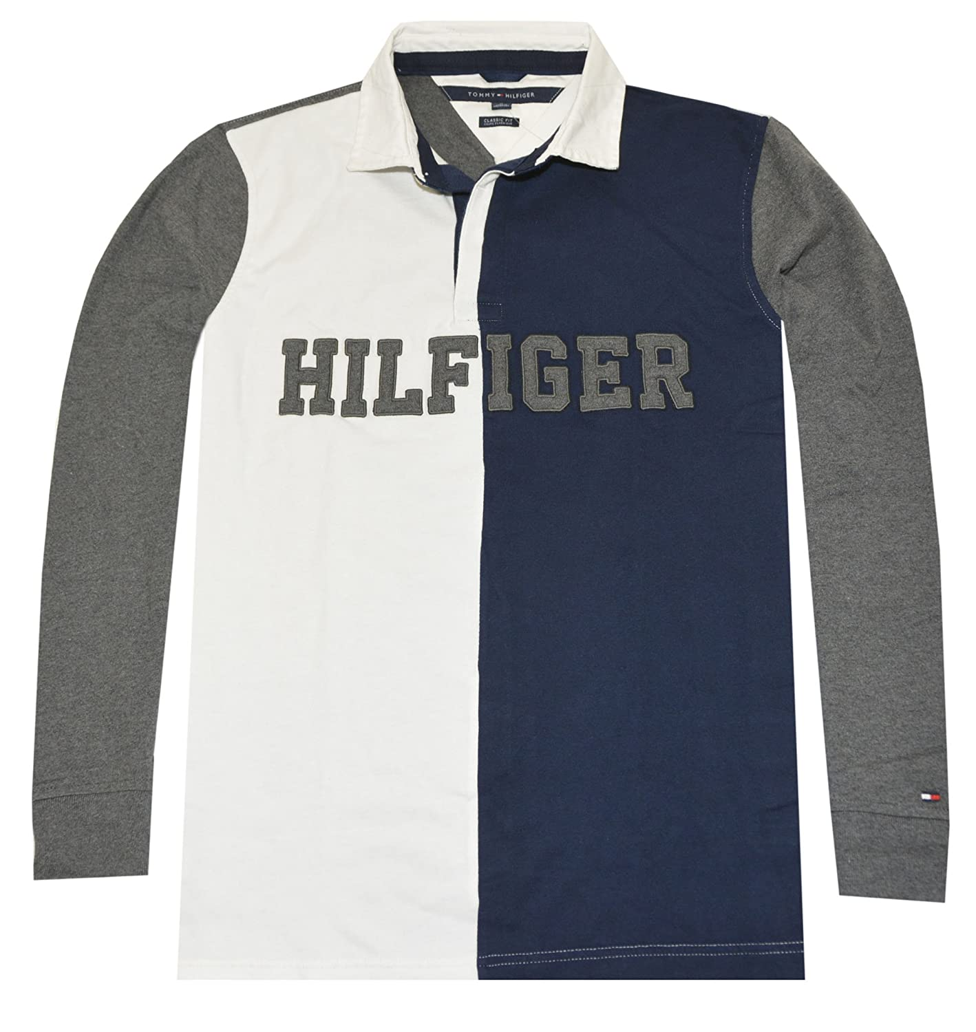 Tommy Hilfiger hombres Classic Fit Gráfico Rugby Polo: Amazon.es ...