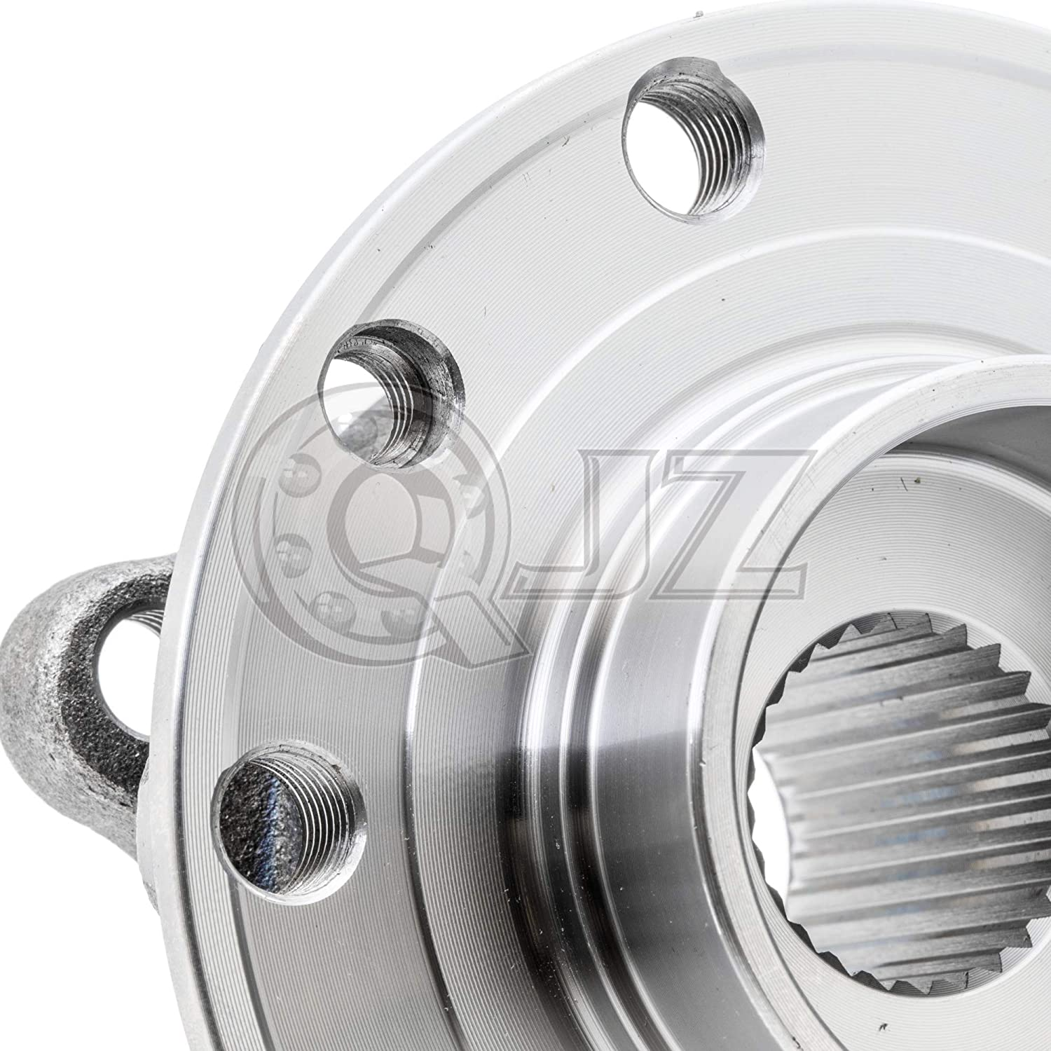 Cross Reference: TIMKEN HA590473, SKF BR930881 1-Pack Premium Quality QJZ 513348 FRONT Wheel Bearing and Hub Assembly for 2013-2016 Dodge Dart 2015-2017 Chrys 200,