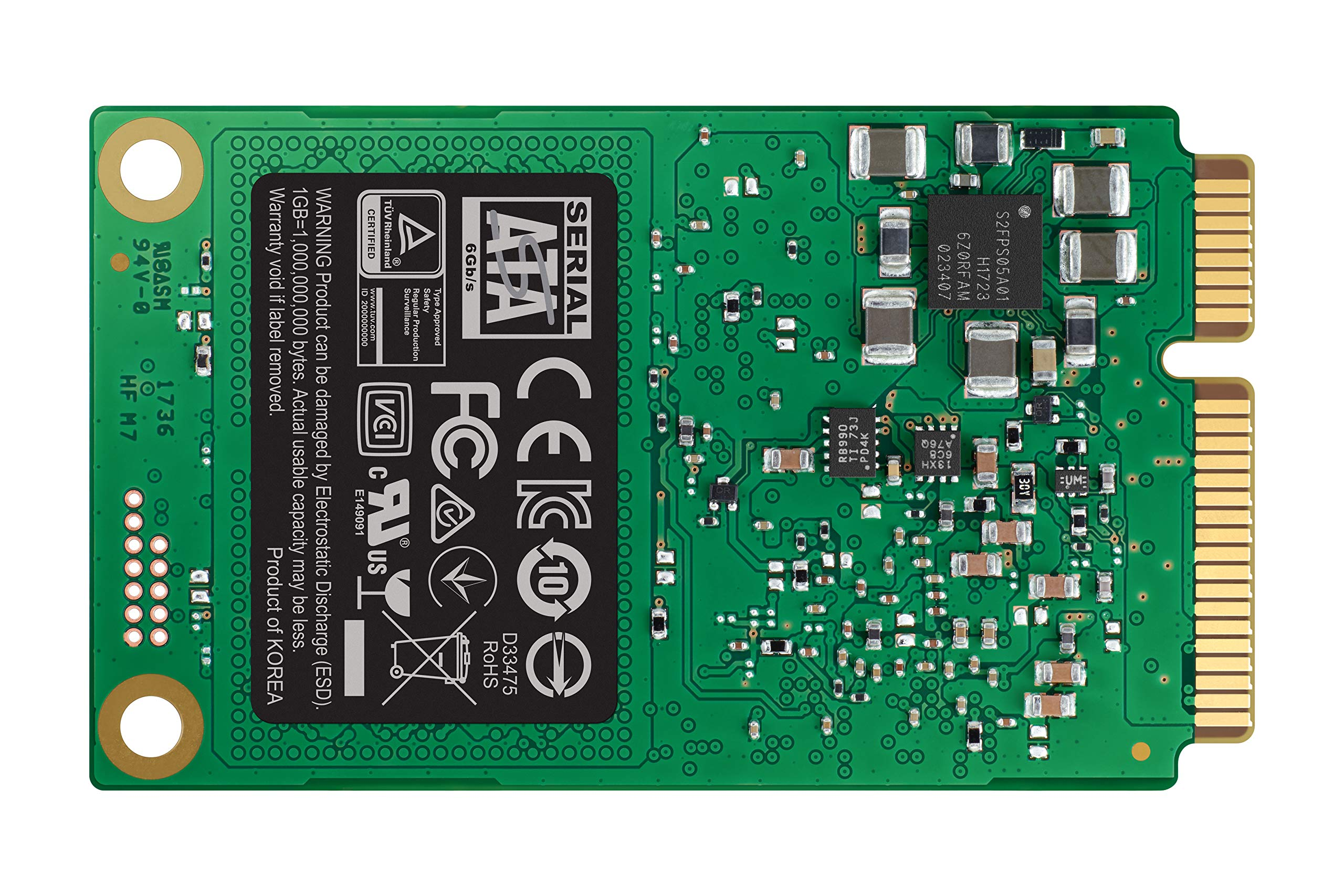 Samsung SSD 860 EVO 1TB mSATA Internal SSD (MZ-M6E1T0BW) by Samsung (Image #13)