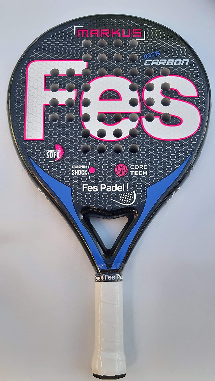 Fes Padel Pala Blue Pink