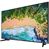 "Samsung NU7090 Series 7 43"" Ultra HD 4K LED Smart TV, Black"
