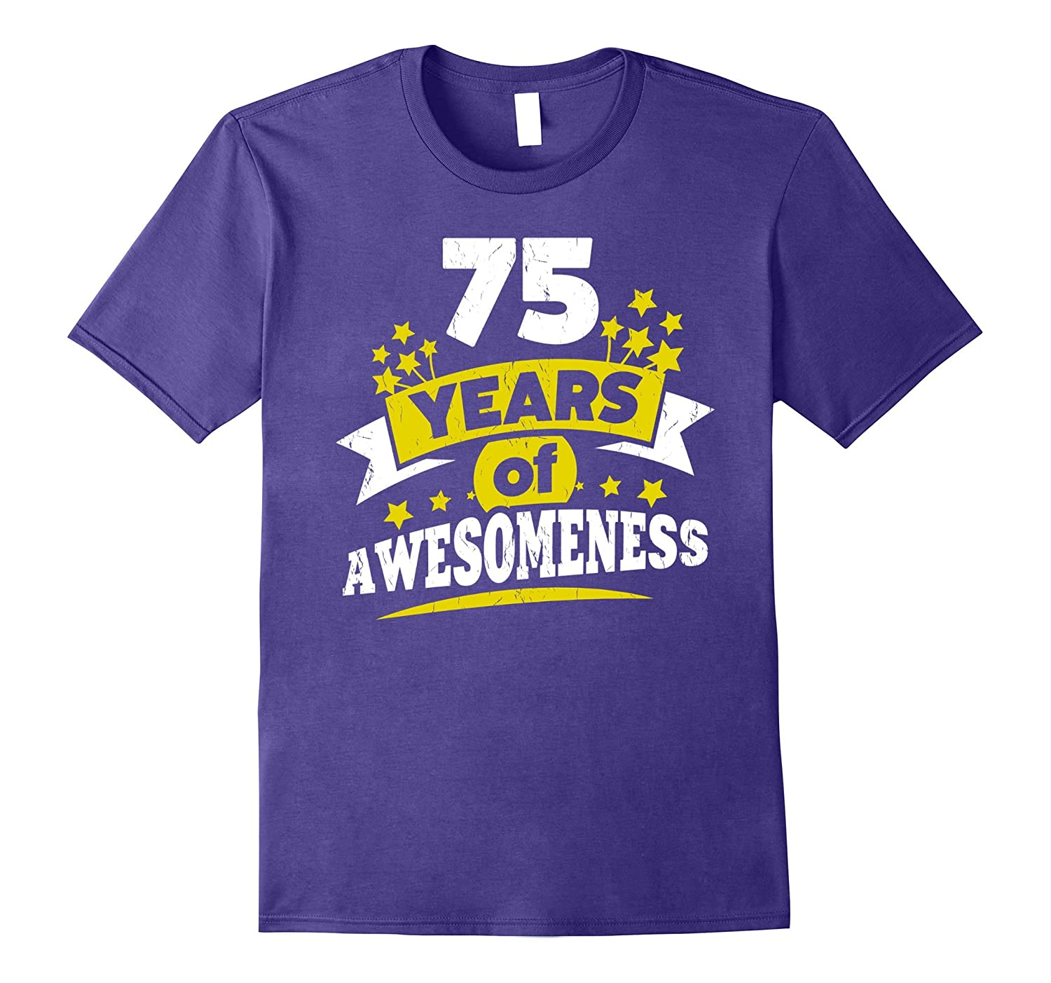 Birthday Gift For 75 Year Old Woman 75th Tee Shirt PL Polozatee