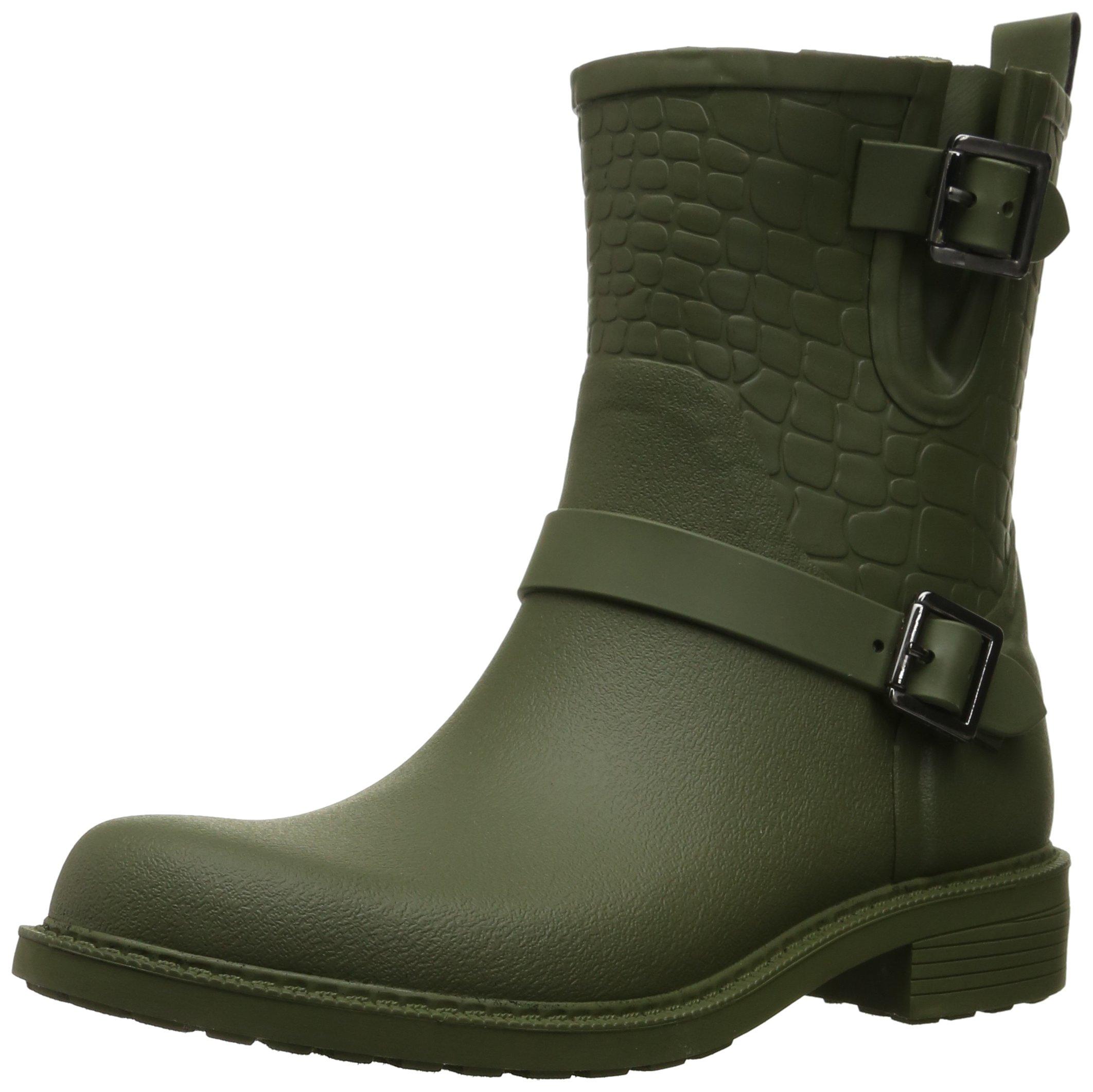 Sam Edelman Women's Keigan Rain Shoe, Forest Green, 7 M US