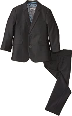 Appaman Boy's Two-Piece Classic Mod Suit In Vintage Black