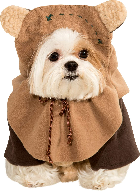 Star Wars - Disfraz de Ewok para mascota, Talla M perro (Rubie's 887854-M)