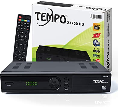 hd-line Tempo 23700 - Receptor de satélite (HDTV, DVB-S/S2 ...