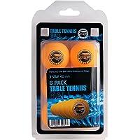 Pelotas de tenis de mesa PING PONG–3estrellas 40mm pelotas de formación avanzada Reglamento tamaño 6Pk naranja sportzgo