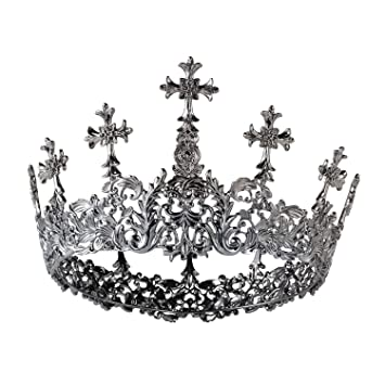 Ladies Gothic Evil Queen Crown Accessory Kit