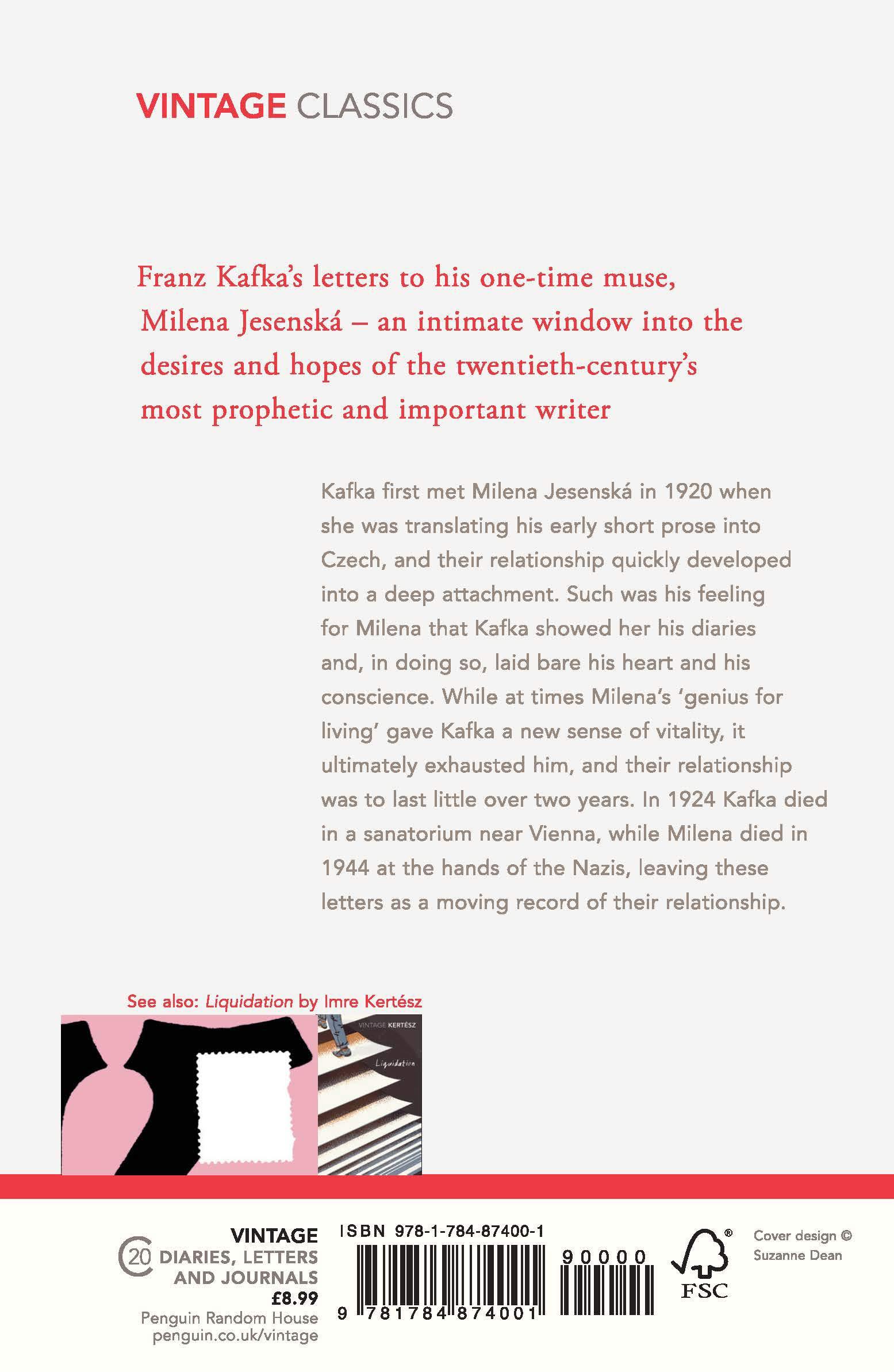 Franz Kafka Letters To Milena Pdf