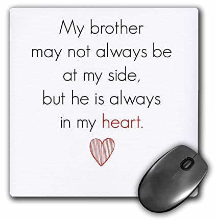 Amazon.com: 3dRose Xander inspirational quotes - my brother ...