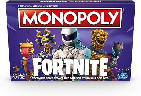 Monopoly Fortnite, Juego de Mesa a Partir de 13 años [ Alemán ...