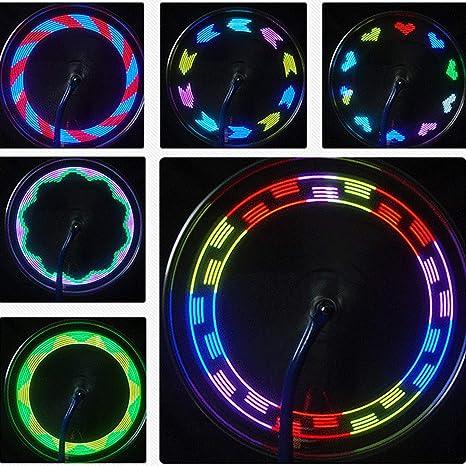 Fahrradrader Beleuchten Wasserdichte Fahrradfelgenlichter
