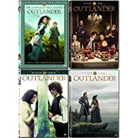 Outlander - The Complete Series Seasons 1-4 DVD Collection